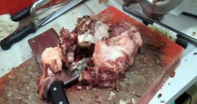 İzmir'de 'domuz eti' operasyonu