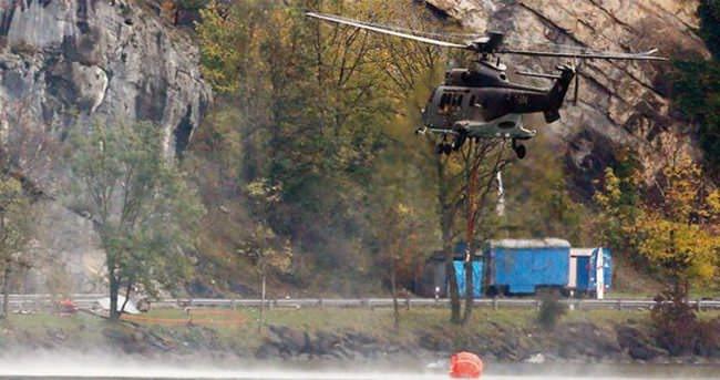 İsviçre, Fransa'dan helikopterle su çalmış