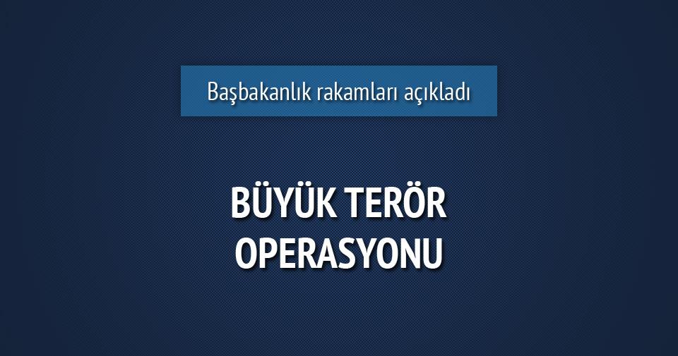 Büyük terör operasyonu