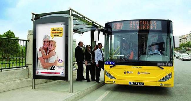 İETT otobüsü doğum gününüzü kutluyor
