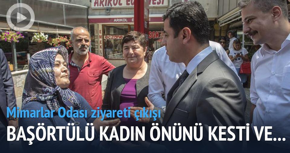 Selahattin Demirtaş'a şok tepki