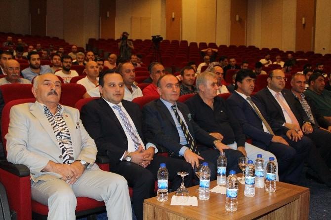 Ali Demirhan, B. B. Erzurumspor Kulüp Başkanı Seçildi