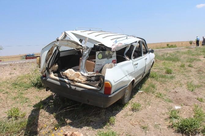 Konya'da Hastane Dönüşü Kaza: 3 Yaralı