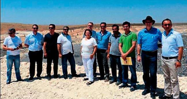 Kardeş çevreciler Gaziantep'i inceledi