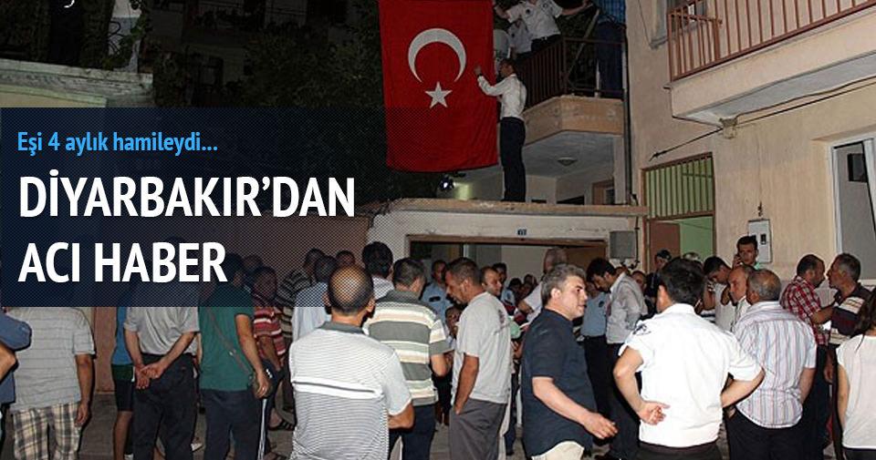 Diyarbakır'da polise saldırı: 2 şehit, 1 yaralı