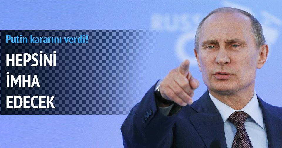 Putin Avrupa ürünlerini imha edecek!