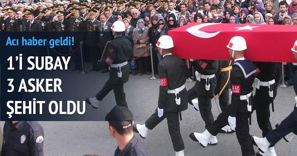 Şırnak'tan çok acı haber 3 şehit