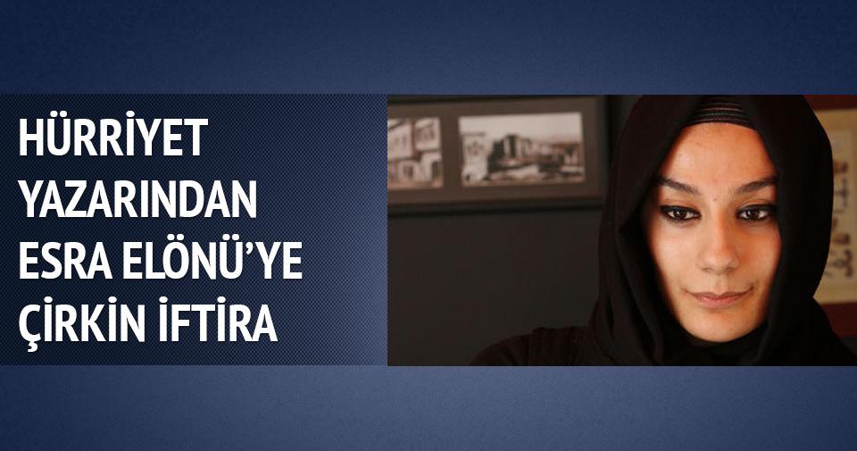 Duman'dan Esra Elönü'ye ve dine çirkin iftira!