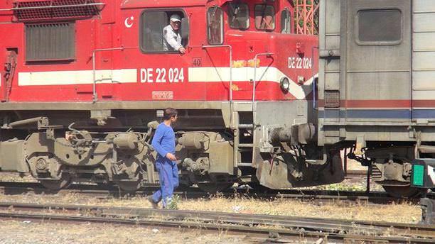 Yük trenine terör saldırısı