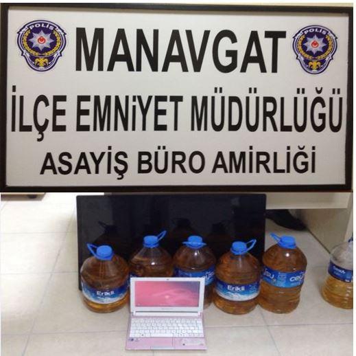 Manavgat'ta Hırsızlık Ve Uyuşturucu Operasyonu