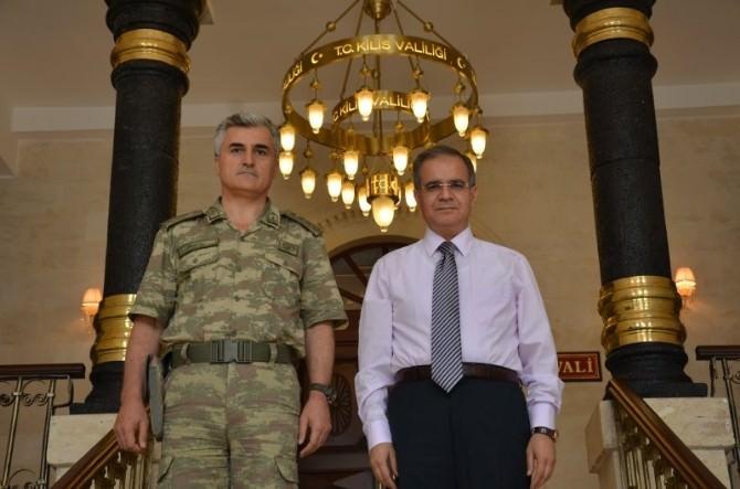 İl Jandarma Komutanı Albay Necmi İnce'den Veda Ziyareti