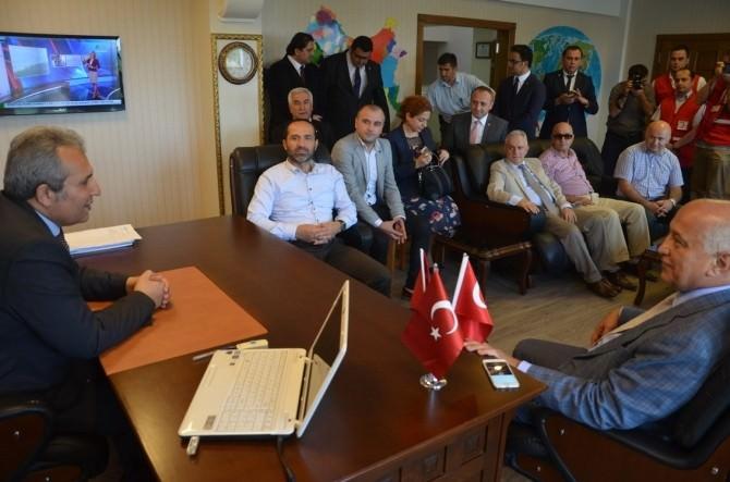 Türk Kızılayı Genel Başkanı Akar Fatsa'da