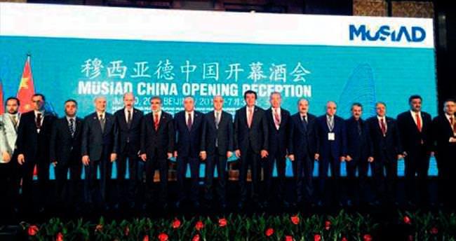 MÜSİAD Çin'de temsilcilik açtı