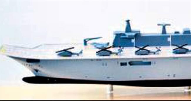 Yerli gemiye yerli savaş ve elektronik sistem