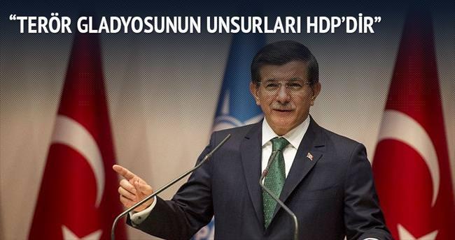 Terör gladyosunun unsurları HDP'dir