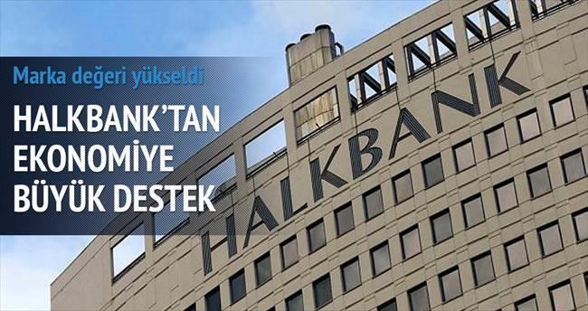 Halkbank'tan ekonomiye 154.7 milyar TL destek