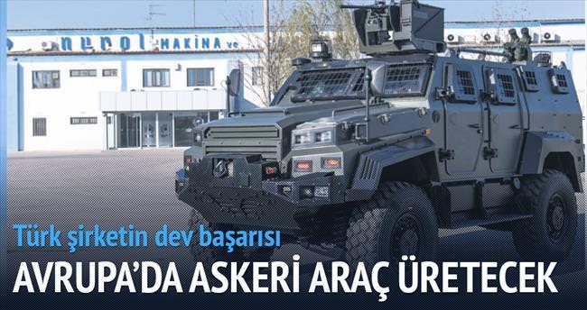 Nurol Romanya'da askeri araç üretecek