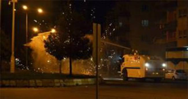 150 kişilik izinsiz gösteriye polis engeli