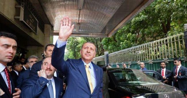 Erdoğan'ın aracının dikkat çeken plakası