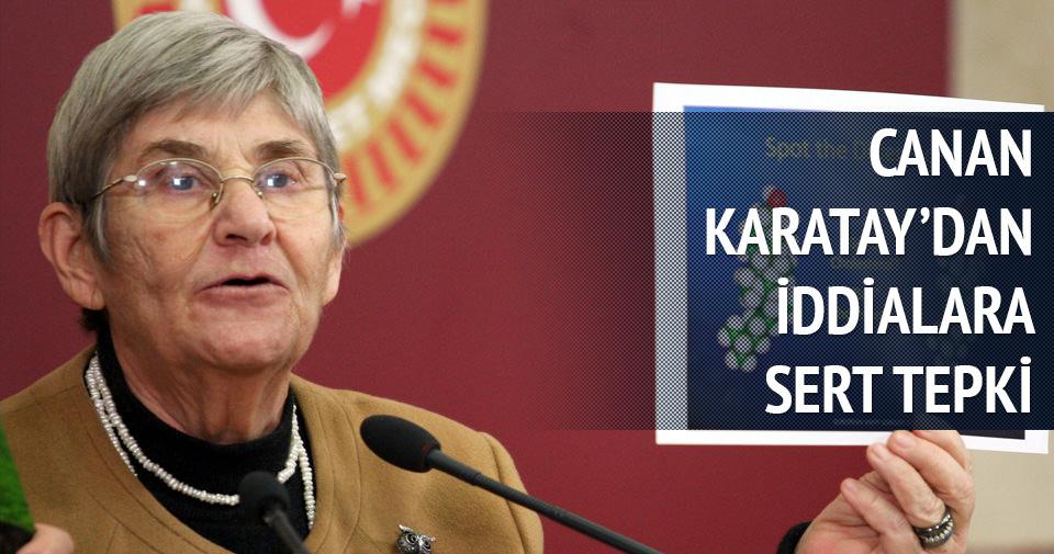 Canan Karatay'dan iddialara sert tepki