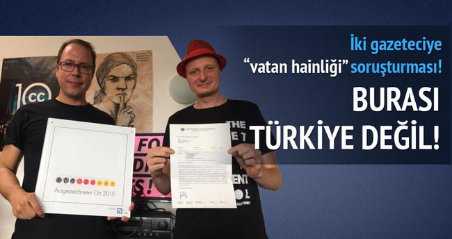 İki gazeteciye vatan hainliği soruşturması!