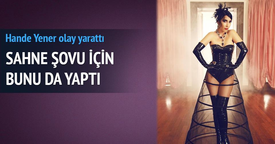 Hande Yener Ukrayna'dan gladyatör getirtti