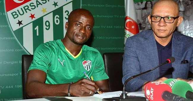 Dany'den Bursaspor'a 3 yıllık imza