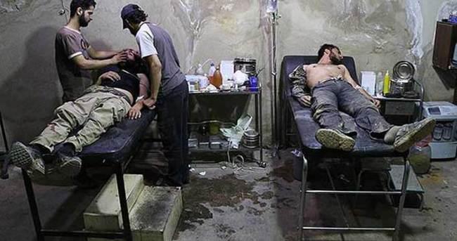 Suriye'de yine klor gazlı saldırı