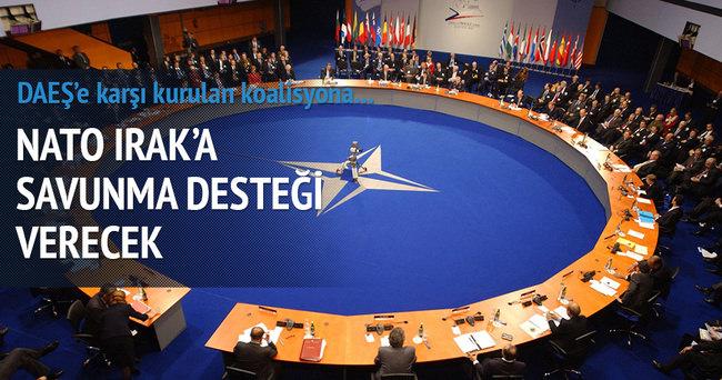 NATO, Irak'a savunma desteği verecek