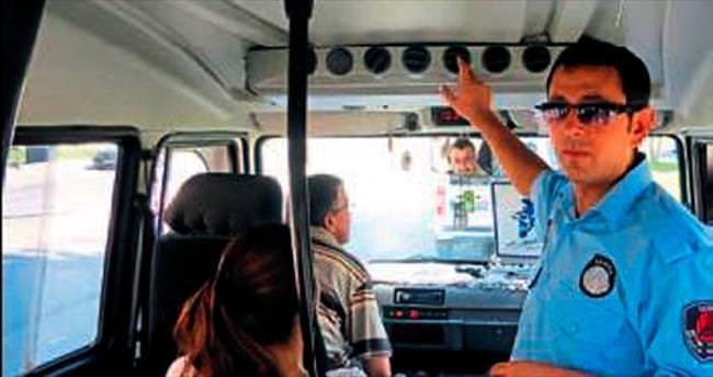 Klima açmayan 30 şoföre ceza