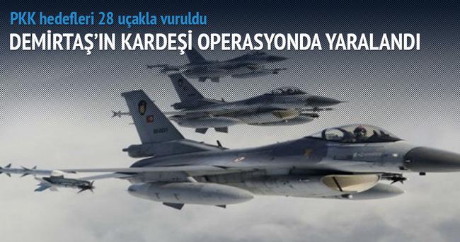 260 terörist öldürüldü, Demirtaş'ın kardeşi operasyonda yaralandı