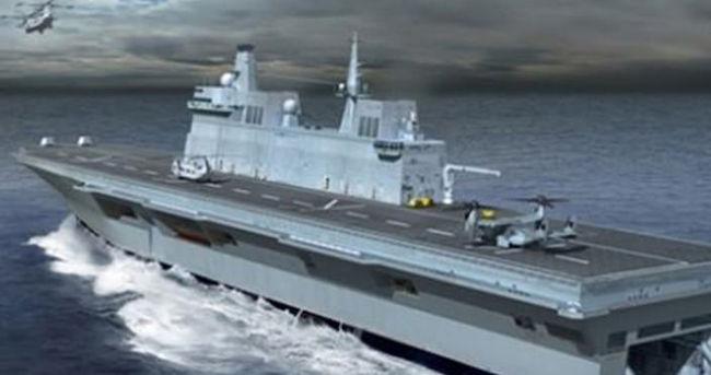 İlk uçak gemimiz bir tabur gücünde olacak