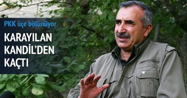 Murat Karayılan Kandil'den kaçtı