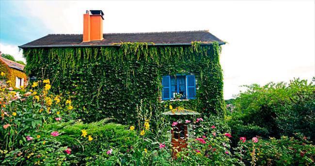 Monet'nin rengarenk bahçesi