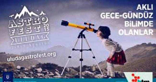 Bursa'da gözlem festivali başlıyor