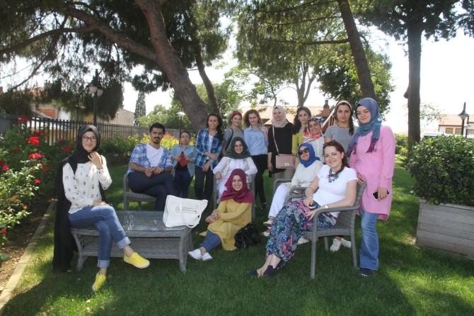 Stajyer Öğrenciler Tarih Koridoru'nu Gezdiler