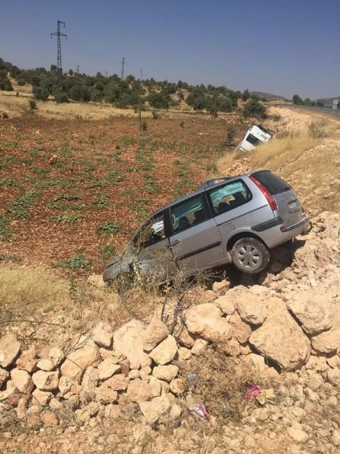 Dargeçit'te Trafik Kazası: 2 Yaralı