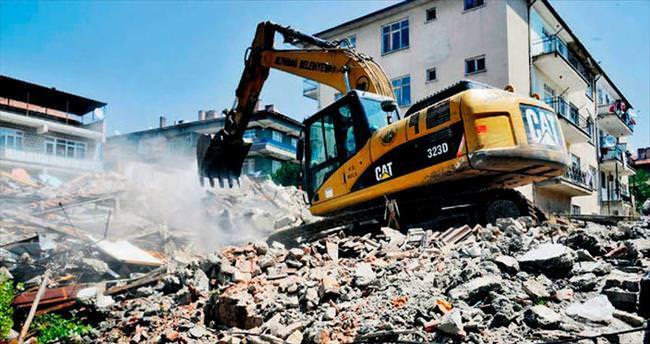 Önder'de vatandaş yıkımdan memnun