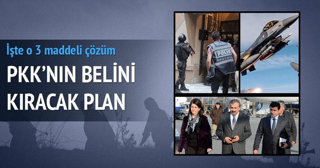 PKK'yı bitirecek 3 aşamalı plan!