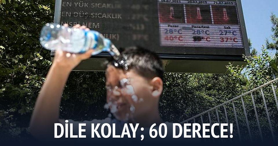 Antalya'da en sıcak gün!