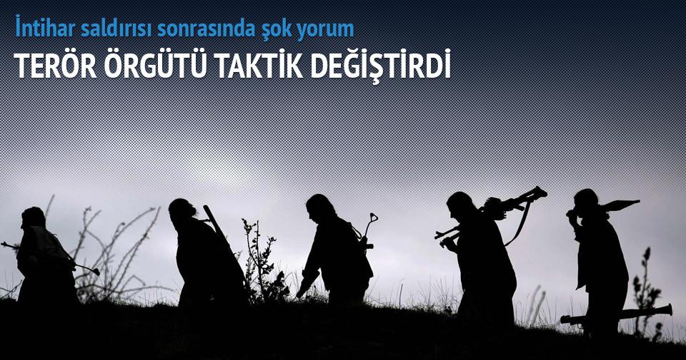 PKK taktik değiştirdi