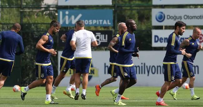Fenerbahçe son antrenmanını yaptı