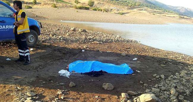 Baraj gölüne giren kardeşler boğuldu