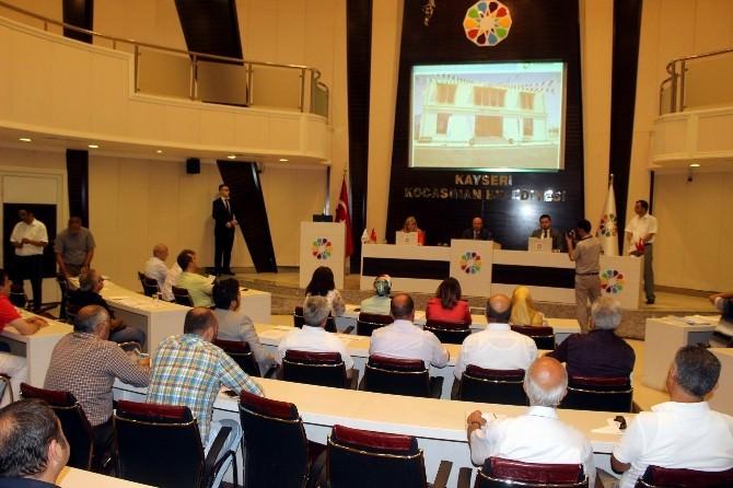 Kocasinan Belediyesi'nde Gergin Meclis Toplantısı