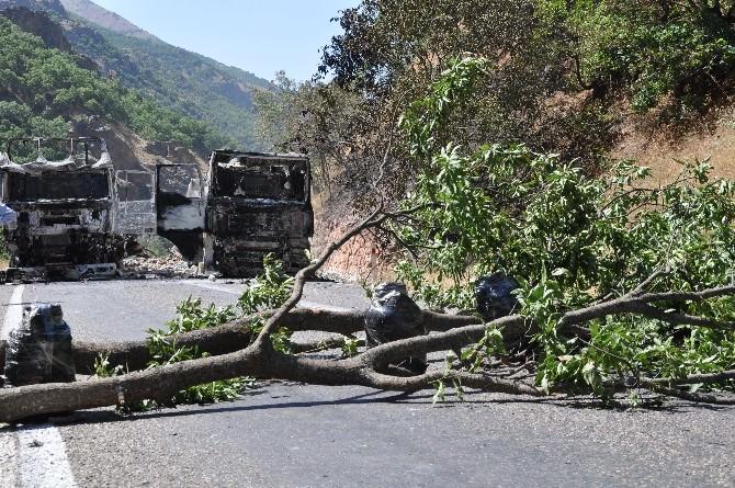 Tunceli-erzincan Karayolu 4 Gündür Kapalı