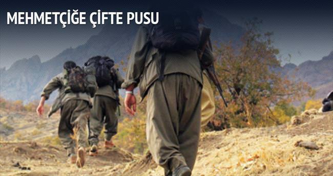 Terör örgütü PKK Mehmetçiğe Ağrı'da çifte pusu kurdu