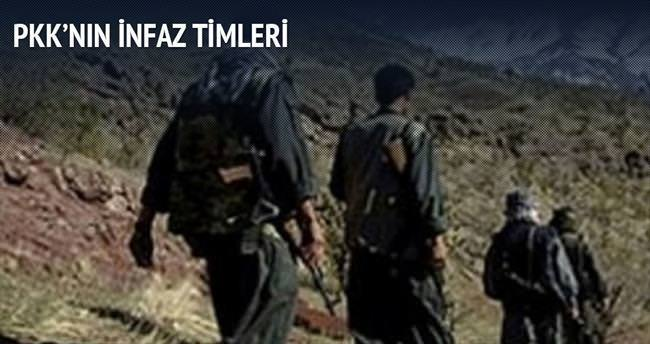 PKK'nın infaz timleri