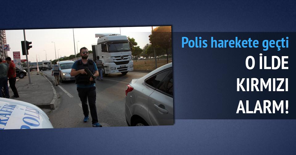 Zonguldak Ereğli'de kırmızı alarm verildi