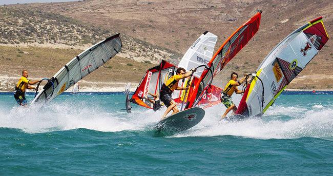 Alaçatı'da Windsurf Dünya Kupası heyecanı