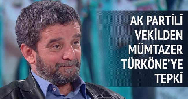 Mümtazer Türköne'ye AK Partili vekilden tepki